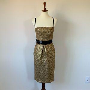 Dolce & Gabbana D&G Gold Lace Dress